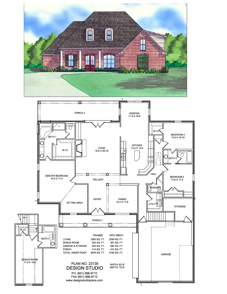 Home design studio ridgeland ms 28 images design house for House plans in mississippi