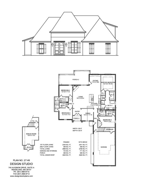 House Design Studio Plans Ridgeland Ms Home Home Design
