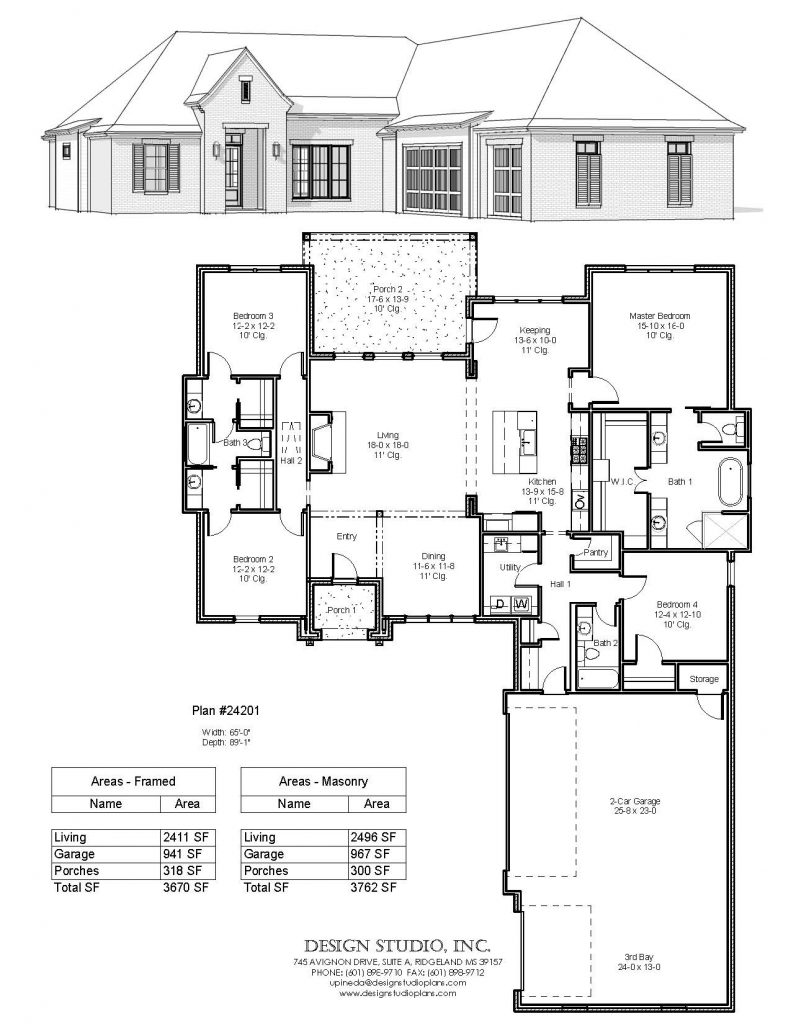 Plan 24201 Design Studio